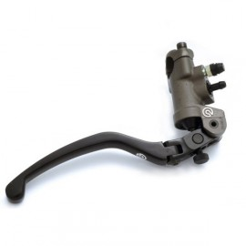 Maître-cylindre Brembo PR19 19x18 forgé levier repliable
