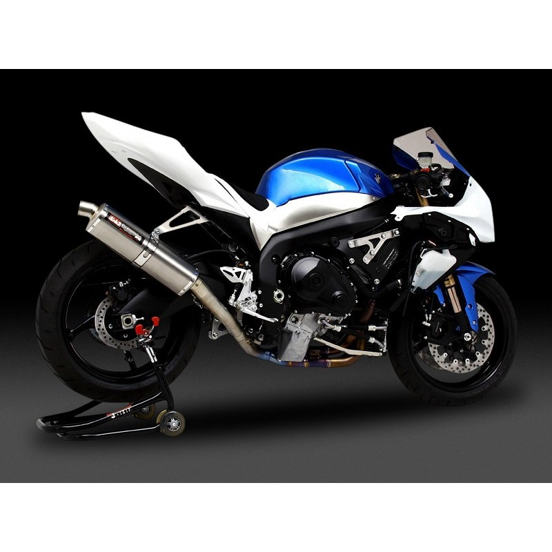 ligne d 39 echappement racing 1 silencieux titane yoshimura gsxr1000 k9 l1 pam racing. Black Bedroom Furniture Sets. Home Design Ideas