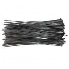 Colliers Serre-câble Rilsan noirs 370X4.8