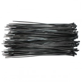 Colliers Serre-câble Rilsan noirs 295X3.6
