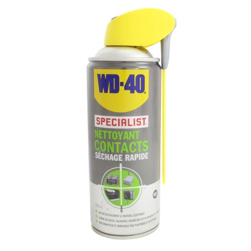 wd 40 nettoyant contacts 400ml pulverisateur systeme pro pam racing. Black Bedroom Furniture Sets. Home Design Ideas