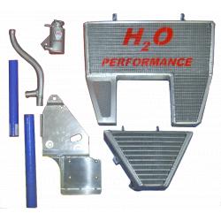 Radiateur d'eau et d'huile grande capacité H2O performance Ducati 1098,1198,848