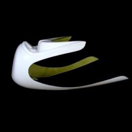 Tête de fourche Racing Cafe Racer fibre de verre