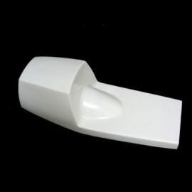 Coque arrière version 2 fibre de verre BSA Rocket 3 1980, TRIUMPH Trident, Rickman-Metisse