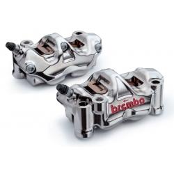 Pack 2 étriers de frein GP4 RX 32/32 radiaux taillés masse assemblés 108mm BREMBO HPK