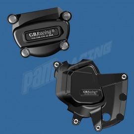 Kit de 2 Protections de carter GB Racing F4 2012-2014