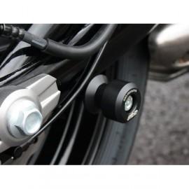 Diabolos support béquille 10 mm GSG MOTO KAWASAKI plastique noir