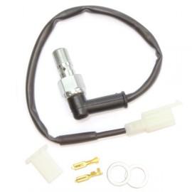 Contact feu stop + Banjo de frein vis de purge simple creuse aluminium M10 x 1.00 ABM
