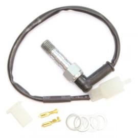 Contact feu stop + Banjo de frein vis de purge double creuse aluminium M10 x 1.25 ABM