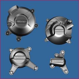 Kit de 4 protections de carter GB Racing MT-09, Tracer, FZ-09, Scrambler, XSR 900 2014-2016