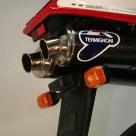 Support de plaque d'immatriculation R&G Racing Ducati