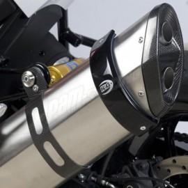Protection Pour Silencieux Rond Sm Noir Diamètre140mm A 165Mm R&G Racing