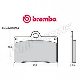 Plaquettes de frein avant Brembo Z03 Type D Endurance