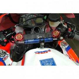 Amortisseur de direction racing ou route position origine TOBY CBR600RR 2007-2012