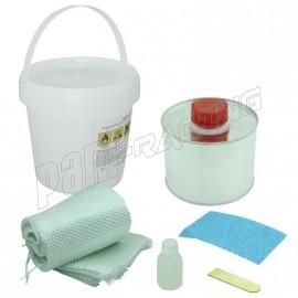 Kit de réparation carénage en fibre de verre