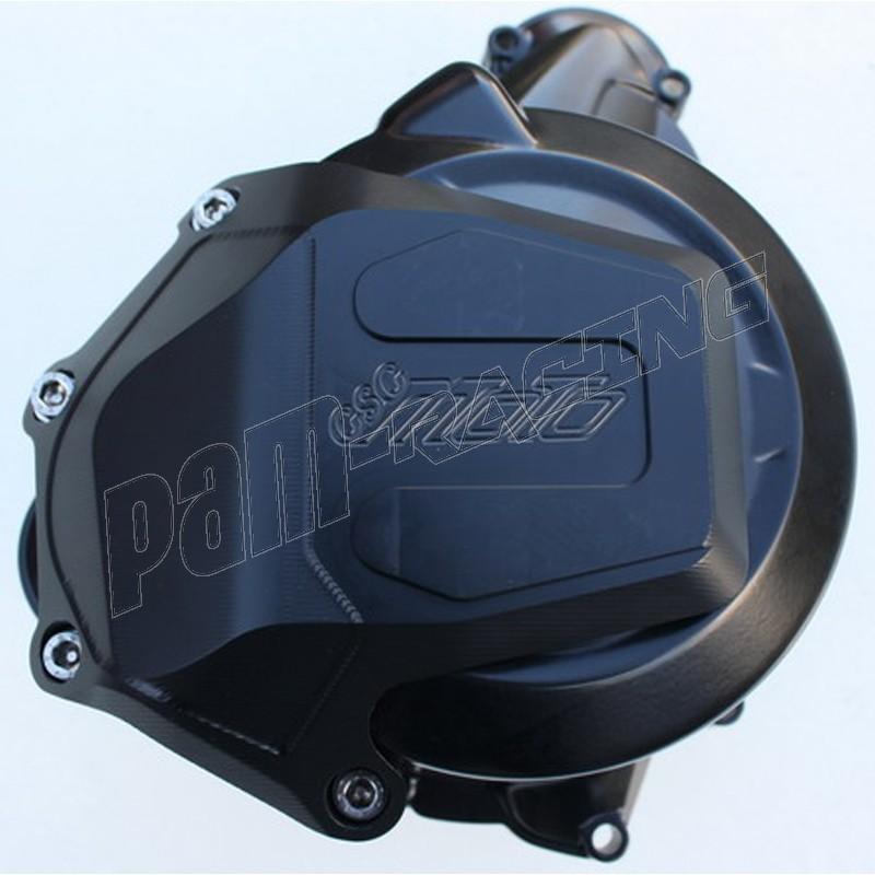 Protection cache carter moto