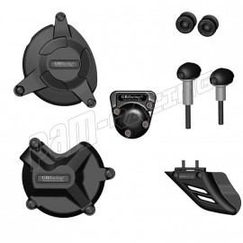 Kit de 6 protections Route GB Racing S1000RR 2009-2016, HP4, S1000R