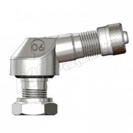 Paire de valves coudées alu 8.3 mm BRIDGEPORT pour jante tubeless
