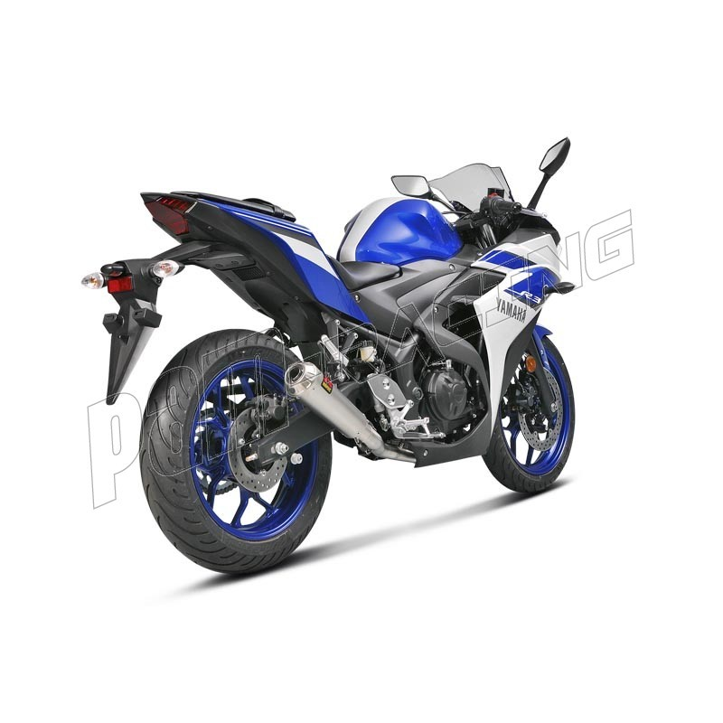 ligne compl te d 39 chappement racing inox akrapovic mt 03 r3 2015 2016 pam racing. Black Bedroom Furniture Sets. Home Design Ideas