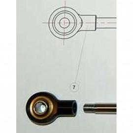 Rotule amortisseur de direction rotule TOBY