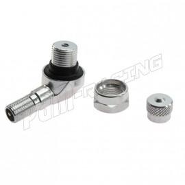 Bouchon de valve aluminium anodisé BRIDGEPORT 2 PCS