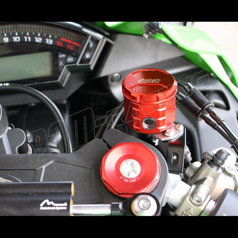 bocal de frein avant aluminium gsg moto zx10r 2016 2017 pam racing. Black Bedroom Furniture Sets. Home Design Ideas