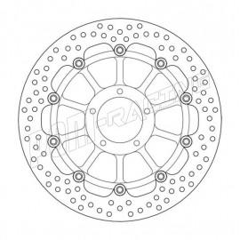 Disque de frein flottant Halo 320 mm ep 5.0 mm 749/R/S, 848, S4R/S, 999S/R/Biposto, Monster S2 1000 Moto-Master