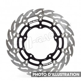 Disque de frein racing flottant Flame 320 mm Ep 5.5 mm 899 & 959 Panigale, 749, 848, 996, 999, Monster S2R & 1100S Moto-Master