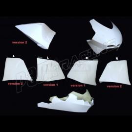 Carénage poly complet 5 parties version 2 fibre de verre MOTO2 SUTER MMX