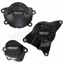 Kit de 3 protections de carter GB Racing R6 2006-2018