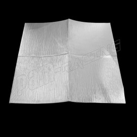 Feuille adhésive aluminium de protection thermique pare-chaleur 450x450 mm