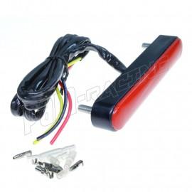 Feu arrière à vis LED Rouge pour endurance, vitesse, pluie ZETA