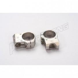 Bracelets de guidon racing 5° position standard LSL diamètre 53.5 mm
