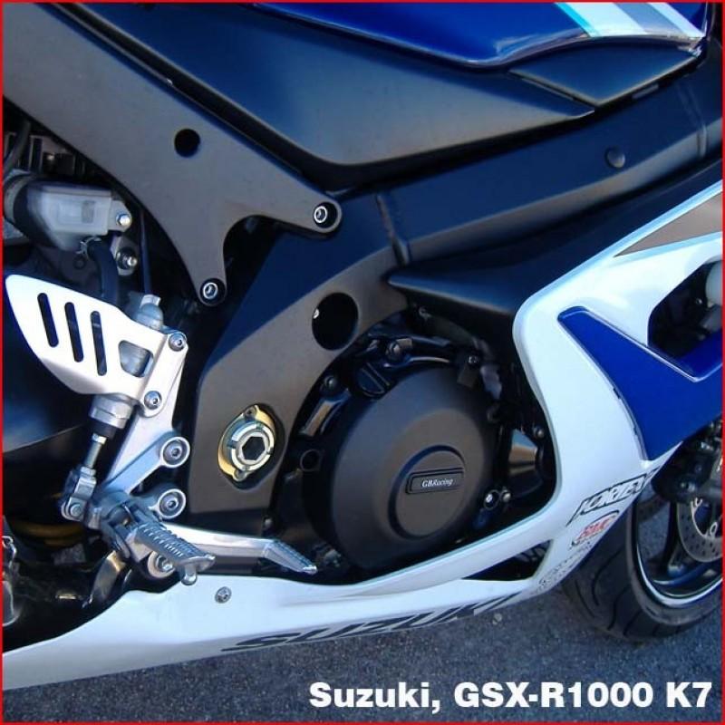 Turbo Kit Gsx R1000: Kit De 5 Protections GB Racing GSXR1000 K5-K8