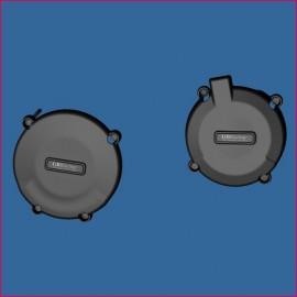 Kit de 2 protections de carter GB Racing Super Moto 950 05-06, 950R 07-08