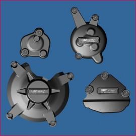 Kit de 4 Protections de carter GB Racing FAZER 1000 2009-2015, FAZER 800 2010-2016
