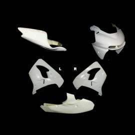 Carénage complet 5 parties selle origine fibre de verre ZX-9R 2000-2003