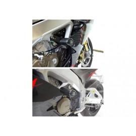 Kit tampons de protection AERO R&G Racing RSV4 Factory, RSV 1000R, TUONO V4R