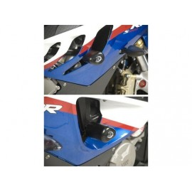 Kit Tampons de Protection Courts version racing AERO R&G Racing S1000RR 2009-2011