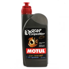 Huile Ponts Autobloquants GEAR Competition 75W140 MOTUL 1L