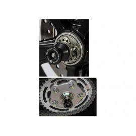 Tampons de protection de bras oscillant R&G Racing Ducati