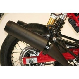 Protection Pour Silencieux Rond Style Supermoto R&G Racing