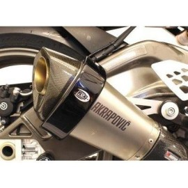Protection pour silencieux Akrapovic hexagonal R&G Racing