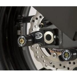 Diabolos Support Béquille 10mm avec Platine R&G Racing ZX6R, ZX6R 636 2007-2016