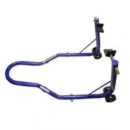 Béquille arrière éco supports caoutchouc couleur bleu