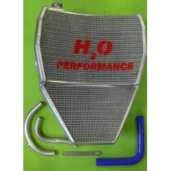 Radiateur d'eau grande capacité Kawasaki ZX-10R 2008-2010 H2O Performance