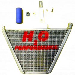 Radiateur d'eau additionnel H2O Performance Kawasaki ZX6R 05/06