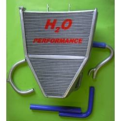 Radiateur d'eau grande capacité Kawasaki ZX-6R 2007-2008 H2O Performance