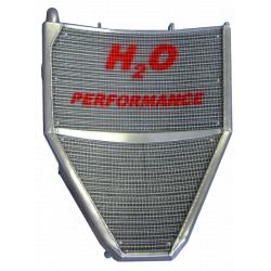Radiateur d'eau grande capacité H2O performance Honda CBR600 RR 03-06