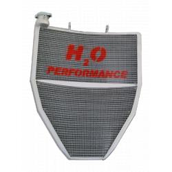 Radiateur d'eau grande capacité Kawasaki ZX-10R 2011-2015 H2O Performance